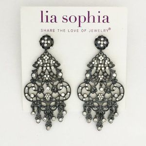 Lia Sophia Candelabra Chandelier Earrings